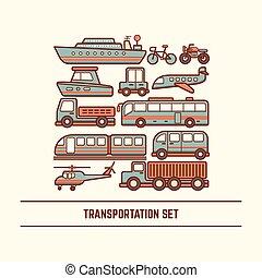 ensemble, transport