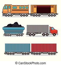 ensemble, transport, moyens