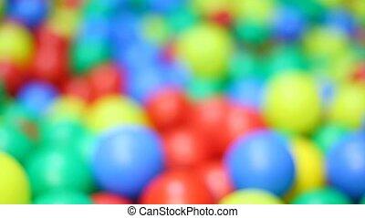 Ensemble varicoloured ball