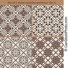 ensemble, vendange, patterns.set, seamless, 4., 4