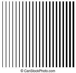 ensemble, vertical, 22, lignes, lignes, directement, thick., stripes., parallèle, mince