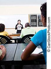 ensinando, chinês