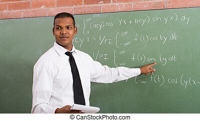 ensinando, professor