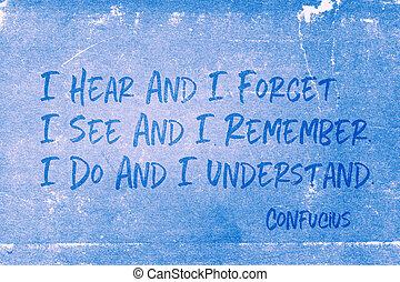 entender, confucius