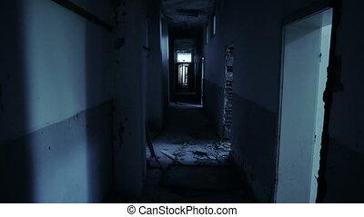 Enter into abandon demolished house
