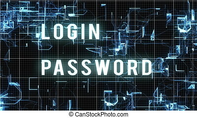 """Entering Login and Password with Access Allowed "" -..."