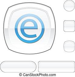 Enternet white button.