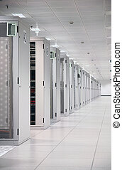 Enterprise Data Center - Network Servers at Data Center