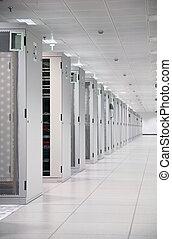 Enterprise Data Center - Network Servers at Data Center