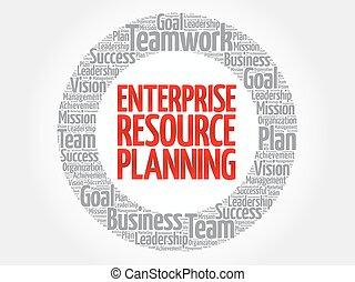 Enterprise Resource Planning circle