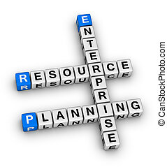 enterprise resource planning crossword puzzle