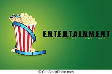 Entertainment Background