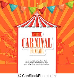 entertainment carnival funfair banner