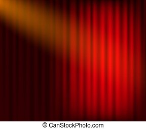 Entertainment Curtains Background For Movies Beautiful Red Theatre Folded Curtain Drapes On Black Stage Vector Illustration Canstock