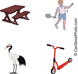 entertainment, ecology, nature and other web icon in cartoon style. transport, children, business, icons in set collection.