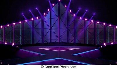 Entertainment TV Studio Set -19
