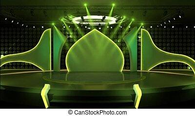 Entertainment TV Studio Set-29 - Entertainment TV Studio Set...
