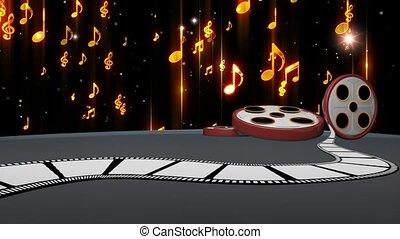 Entertainment TV Studio Set 73- Virtual Green Screen ...