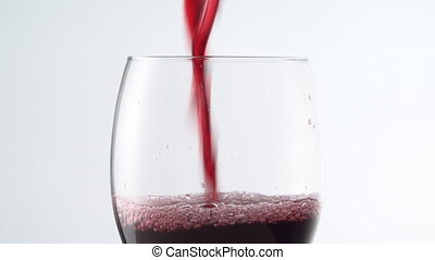 entiers, alcool, boisson, vin, blanc, toile de fond, verre...