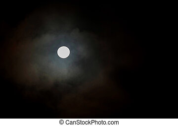entiers, clair lune, lune