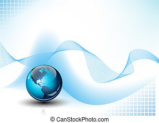 entiers, communications affaires, résumé, editable, illustration, arrière-plan., vecteur