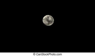 entiers, nuages, lune