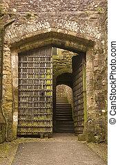 entrée, dunster, château