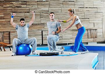 entraîneur personnel, fitness
