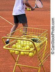 entraîneur tennis
