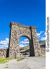 entrada, a, yellowstone national park