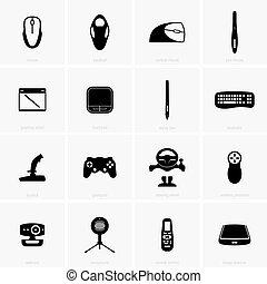 entrada, dispositivos