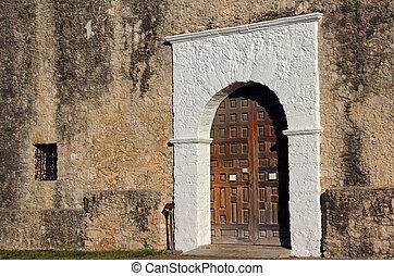 entrada, igreja