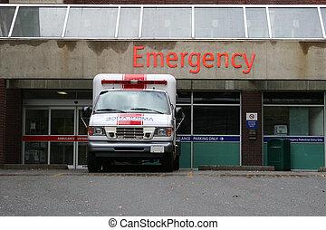 entrada lugar emergência