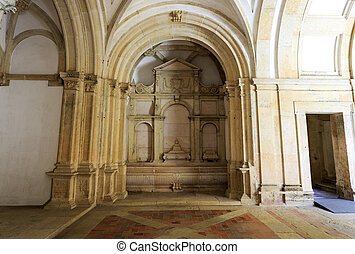 entrada, refectorio, fountain/washbasin