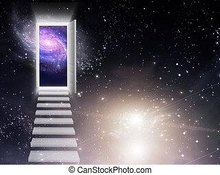 entrada, saída