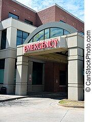 entrada, sala, emergência