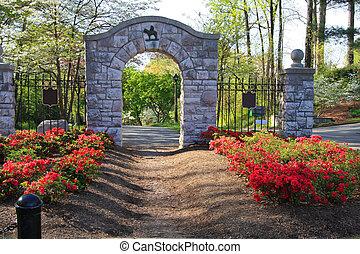 entrada, vecindad