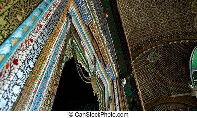 Entrance door, Shah E Hamdan Mosque, Srinagar - Extreme...