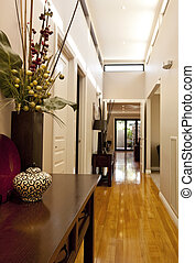 Entrance Hall - Entrance hall of new showcase home, with...
