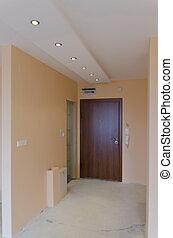 entrance-hall, nouveau, salle, vivant