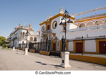 Entrance of the arena of Seville - Ingresso dell'arena di...