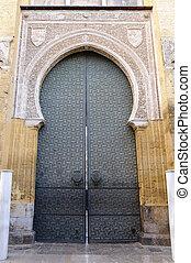 Entrance of the Mezquita in Cordoba, Spain