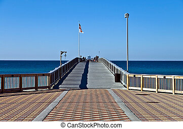Entrance to a Fishing Pier