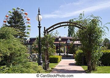 Entrance to Amusement Park