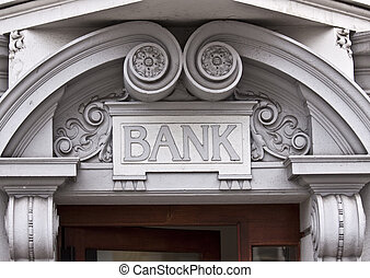 Entrance to Bank