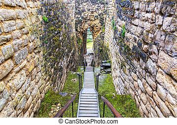 Entrance to Kuelap Ruins