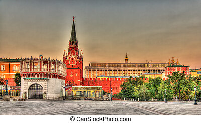 Entrance to Moscow Kremlin - Russia
