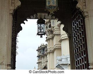 Entrance to palace