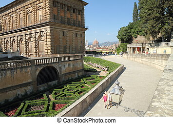 entrance to the Boboli Gardens