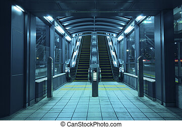 escalators hall